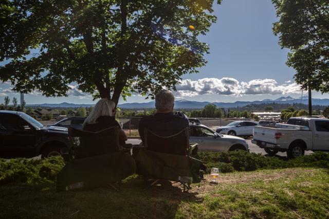 Haven Crux udsigt bjergene